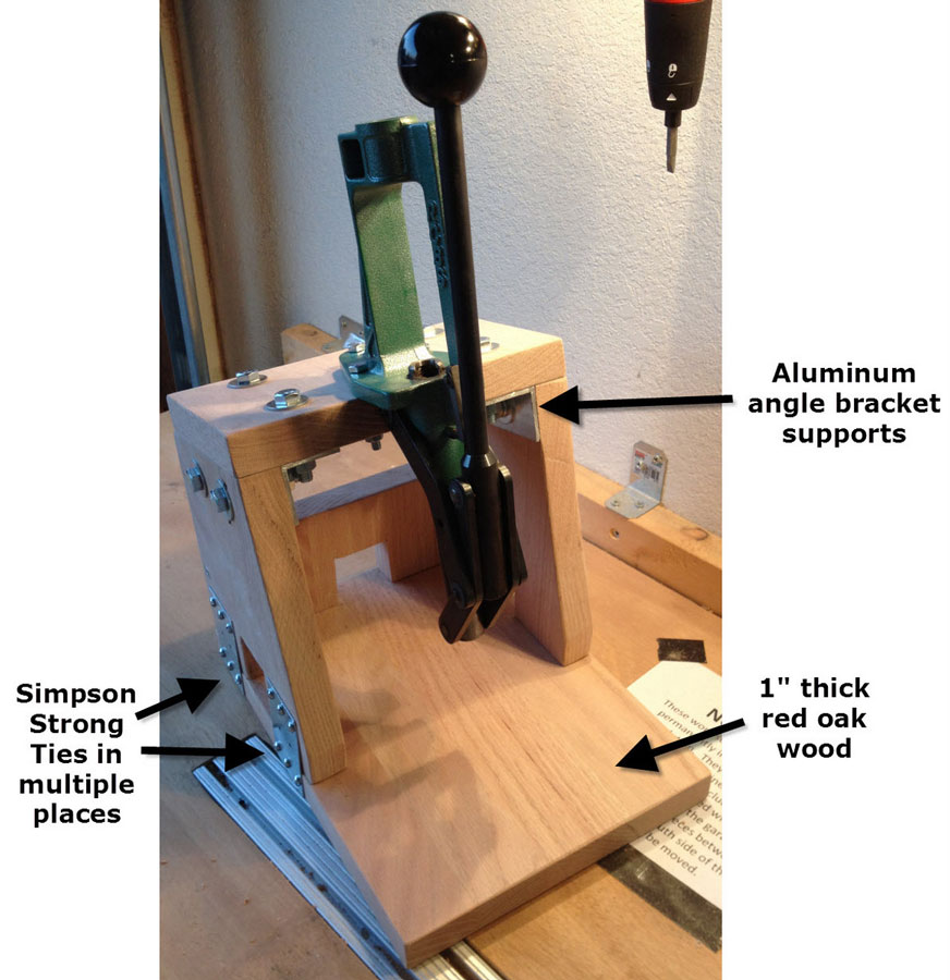 carpentry plans for reloading bench