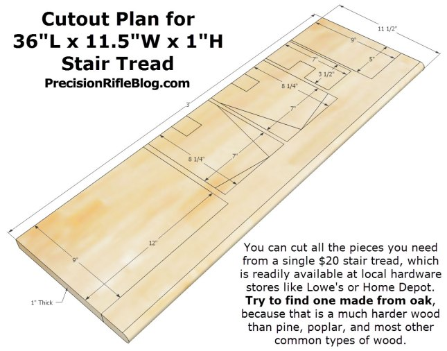 portable reloading press stand cutout diagram