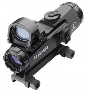 Leupold Mark 4 HAMR 4x24mm with DeltaPoint