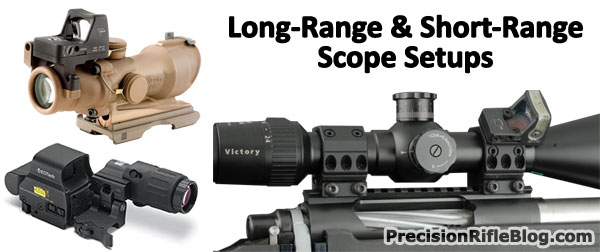 scope mounted reflex sight