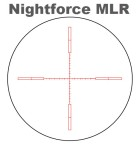 Nightforce MLR Scope Reticle