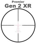 Premier Gen 2 XR Scope Reticle