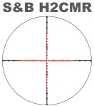 Schmidt & Bender H2CMR Scope Reticle