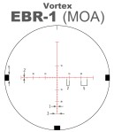 Vortex EBR-1 MOA Scope Reticle