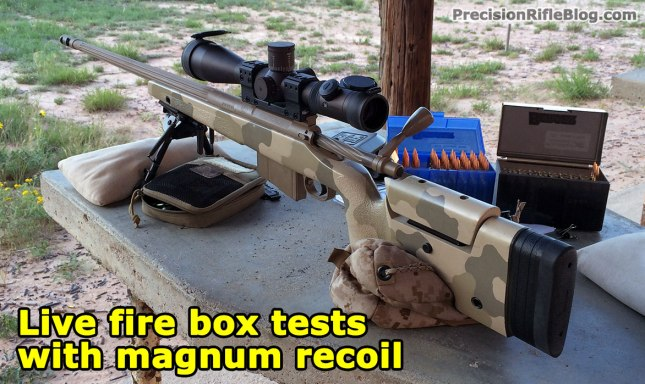 Scope box test