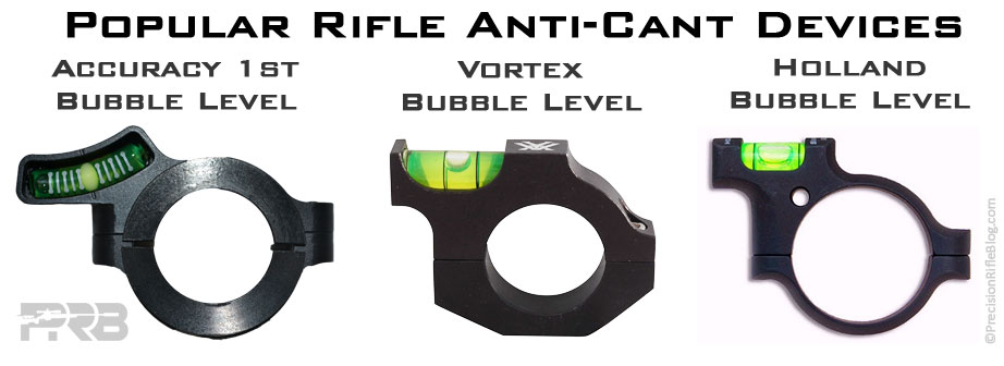 Best Long-Range Rifle Scope Bubble Levels
