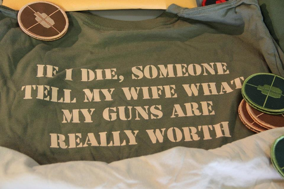 If I die, someone tell me wife what my guns are really worth